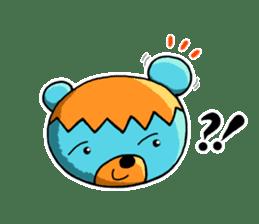 Mr. Aokuma -BlueBear- sticker #7632421