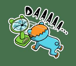 Mr. Aokuma -BlueBear- sticker #7632426