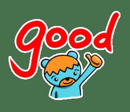 Mr. Aokuma -BlueBear- sticker #7632428