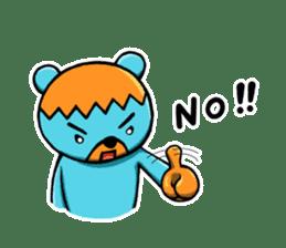 Mr. Aokuma -BlueBear- sticker #7632429