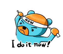 Mr. Aokuma -BlueBear- sticker #7632431