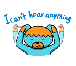 Mr. Aokuma -BlueBear- sticker #7632434