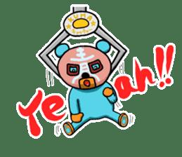 Mr. Aokuma -BlueBear- sticker #7632436
