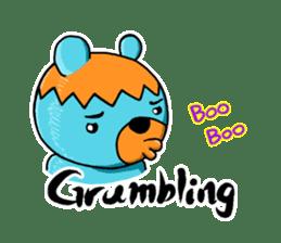 Mr. Aokuma -BlueBear- sticker #7632439