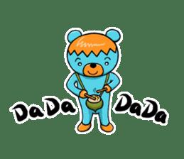 Mr. Aokuma -BlueBear- sticker #7632444