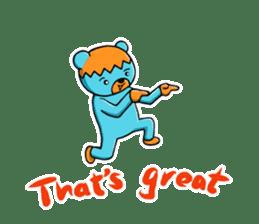 Mr. Aokuma -BlueBear- sticker #7632447