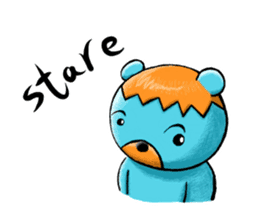 Mr. Aokuma -BlueBear- sticker #7632449