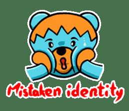 Mr. Aokuma -BlueBear- sticker #7632450