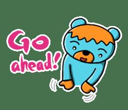 Mr. Aokuma -BlueBear- sticker #7632451