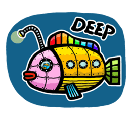 Mr. Aokuma -BlueBear- sticker #7632452