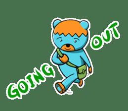 Mr. Aokuma -BlueBear- sticker #7632454
