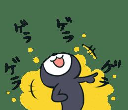 Cheerful cat! sticker #7635751