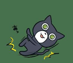 Cheerful cat! sticker #7635762