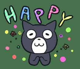 Cheerful cat! sticker #7635772