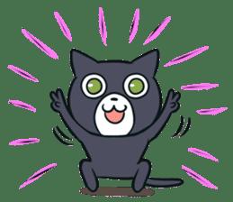 Cheerful cat! sticker #7635779