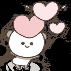 Cute pastel Panda