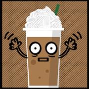 สติ๊กเกอร์ไลน์ Wonderful coffee