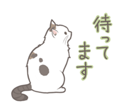 Cat full stickers for cat lover sticker #7651134