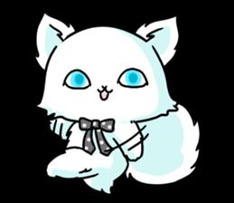 venerable pedigreed Luxury cat! sticker #7657260