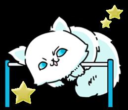 venerable pedigreed Luxury cat! sticker #7657263