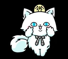 venerable pedigreed Luxury cat! sticker #7657265