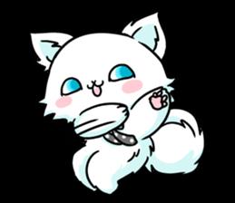venerable pedigreed Luxury cat! sticker #7657268
