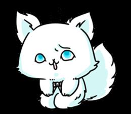 venerable pedigreed Luxury cat! sticker #7657269