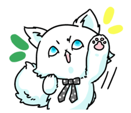 venerable pedigreed Luxury cat! sticker #7657270