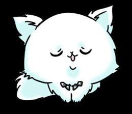 venerable pedigreed Luxury cat! sticker #7657273