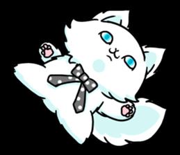 venerable pedigreed Luxury cat! sticker #7657274