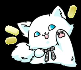 venerable pedigreed Luxury cat! sticker #7657275