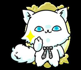 venerable pedigreed Luxury cat! sticker #7657276