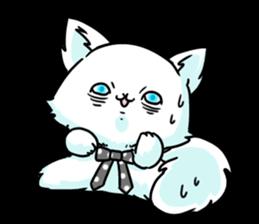 venerable pedigreed Luxury cat! sticker #7657281