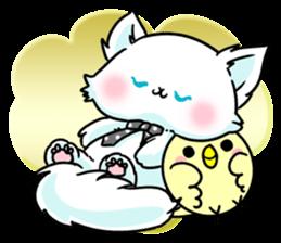 venerable pedigreed Luxury cat! sticker #7657284