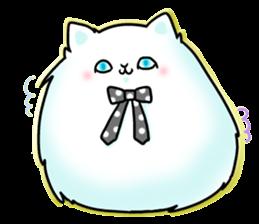 venerable pedigreed Luxury cat! sticker #7657285