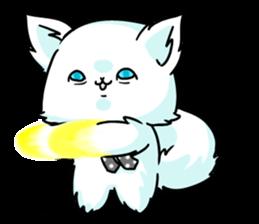 venerable pedigreed Luxury cat! sticker #7657289