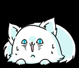 venerable pedigreed Luxury cat! sticker #7657290