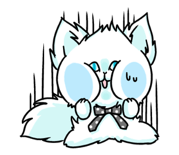 venerable pedigreed Luxury cat! sticker #7657291