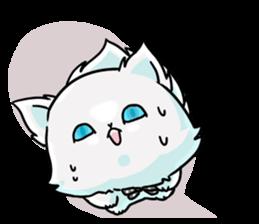 venerable pedigreed Luxury cat! sticker #7657295