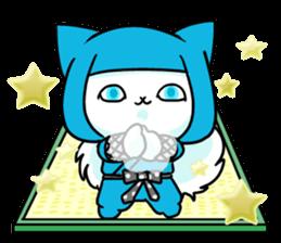 venerable pedigreed Luxury cat! sticker #7657298