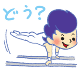 Gymnastics Yukey sticker #7662556