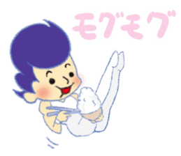 Gymnastics Yukey sticker #7662565