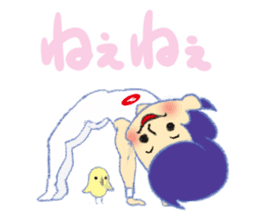 Gymnastics Yukey sticker #7662567