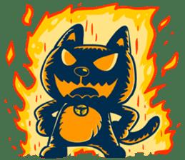 Idiot Cat sticker #7671133