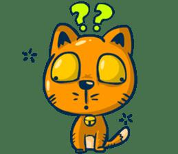 Idiot Cat sticker #7671137