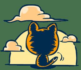 Idiot Cat sticker #7671140