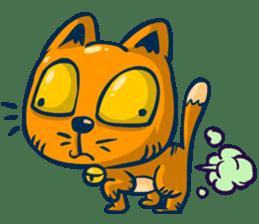 Idiot Cat sticker #7671141