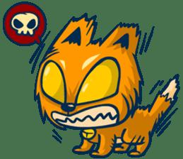 Idiot Cat sticker #7671151