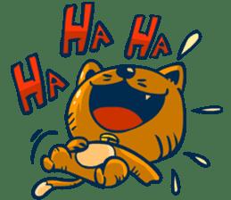Idiot Cat sticker #7671170