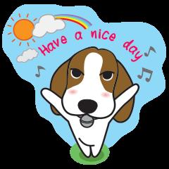 Porjai Beagle Dog Version 2